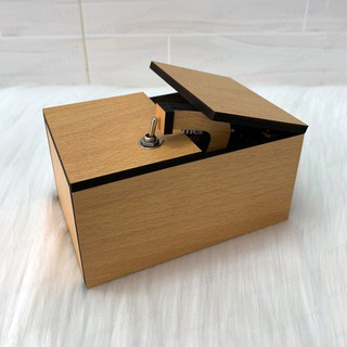 Hộp vô dụng – Useless Box – Don't Wake Me Box