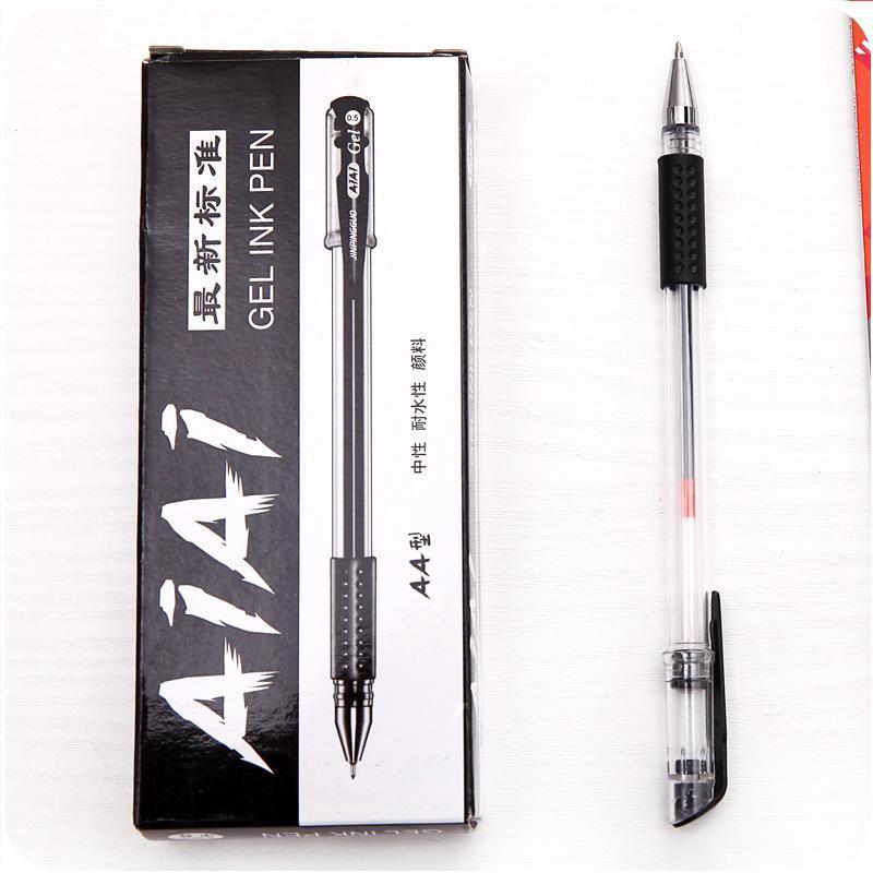 Bút Bi Mực Đen Kiểu Dáng Sang Trọng Tiện Dụng Cho Trường Học Văn Phòng 3
