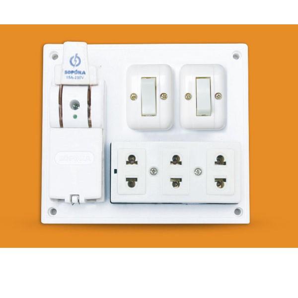 Bảng điện nổi Táp lô 3 ổ cắm 2 công tắc cầu dao 20A 2200W - 3337765 , 1343283399 , 322_1343283399 , 83000 , Bang-dien-noi-Tap-lo-3-o-cam-2-cong-tac-cau-dao-20A-2200W-322_1343283399 , shopee.vn , Bảng điện nổi Táp lô 3 ổ cắm 2 công tắc cầu dao 20A 2200W