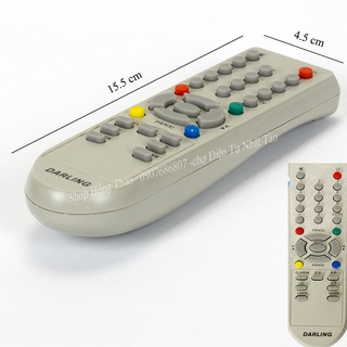 Remote Tivi Darling for CRT không hộp