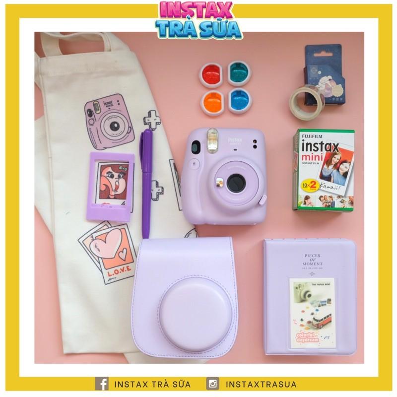 Combo Instax Mini 11 - BỘ MÁY và phụ kiện chụp ảnh lấy liền Fujifilm Instax Mini 11 - Bảo...
