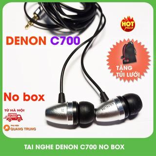Tai nghe Denon C700 nobox,tặng túi lưới