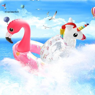 XP_60/70cm Unicorn Flamingo Children Kids Inflatable Pool Underarm Swimming Ring