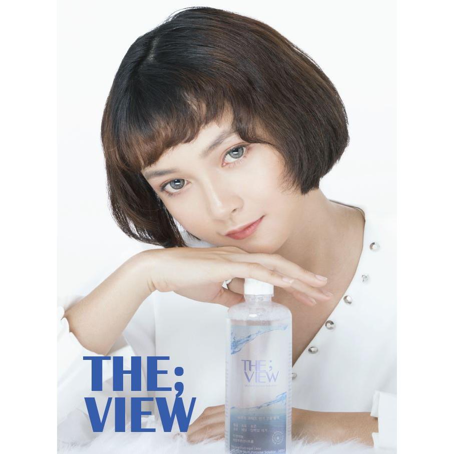 [Mã FAMAY15 giảm 15K đơn 99K] Nước ngâm lens HÀN QUỐC THE VIEW 160ml
