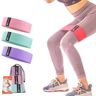 [In Stock]A set of resistance bands hip circle latex elastic hip circle fitness resistance circle squat yoga stretching belt fitness supplies