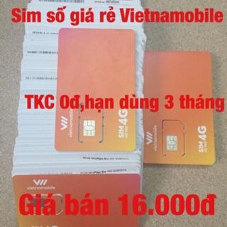 Sim Vietnamobile nghe gọi nhận mã 0đ