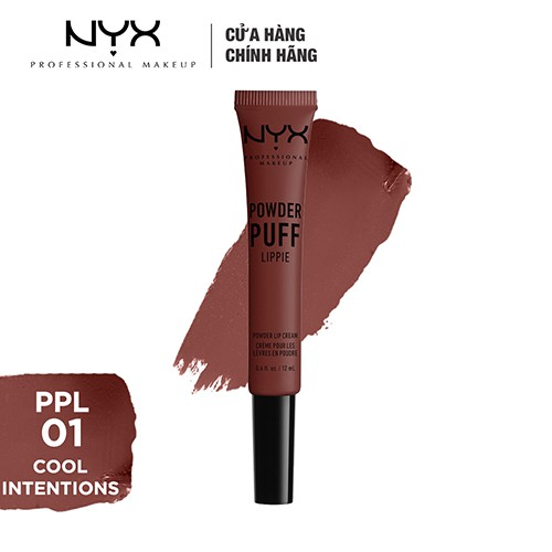 Son Môi Kem NYX Professional Makeup Powder Puff Lippie Powder Lip Cream 12ml - 3464319 , 980003719 , 322_980003719 , 250000 , Son-Moi-Kem-NYX-Professional-Makeup-Powder-Puff-Lippie-Powder-Lip-Cream-12ml-322_980003719 , shopee.vn , Son Môi Kem NYX Professional Makeup Powder Puff Lippie Powder Lip Cream 12ml