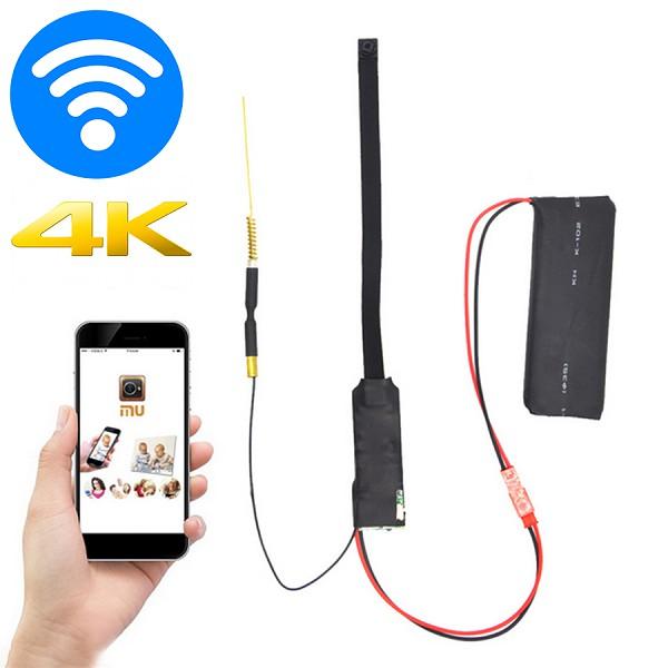 Camera hành trình ô tô - Camera hành trình kiểm soát đa năng cao cấp WiFi 4K FullHD 1080 siêu chân thực