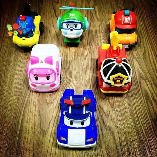 Đồ chơi ⚡️𝗙𝗥𝗘𝗘𝗦𝗛𝗜𝗣⚡️ Đồ chơi Poli biến hình biệt đội xe robocar giúp cho bé phát triển trí tuệ