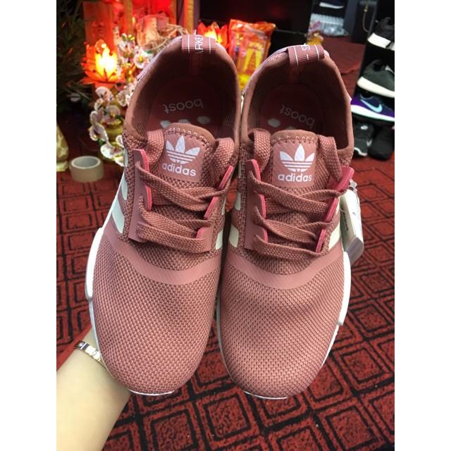 Giày thể thao  Sneaker  nmd  hồng đất( tặng móc khoá )   SaleOff247