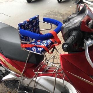 Ghế ngồi xe Tay Ga cho bé inox