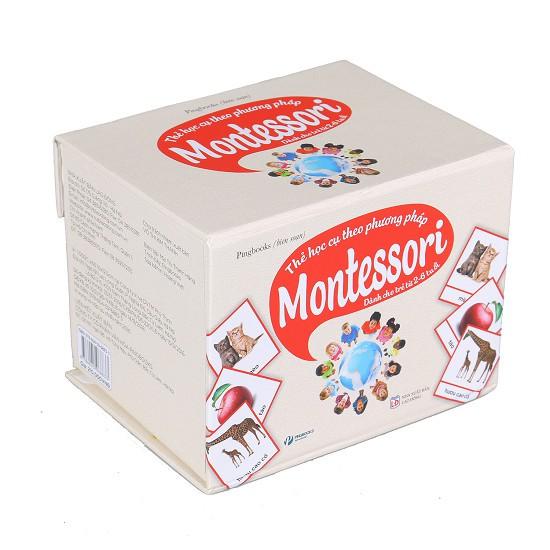 Thẻ Học Cụ Theo Phương Pháp Montessori (Dành Cho Trẻ Từ 2-6 Tuổi)