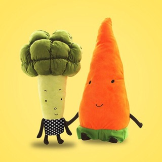 Cà rốt và bông cải đồ chơi
