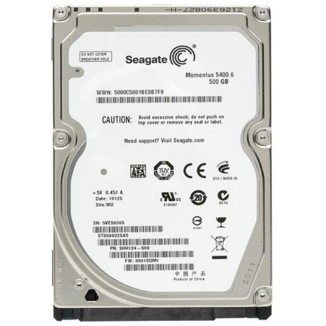 Ổ Cứng HDD Seagate 500GB (Tháo Máy Đồng Bộ – Mới Trên 98%) – Bảo Hành 12 Tháng 1 Đổi 1 Giá chỉ 350.000₫