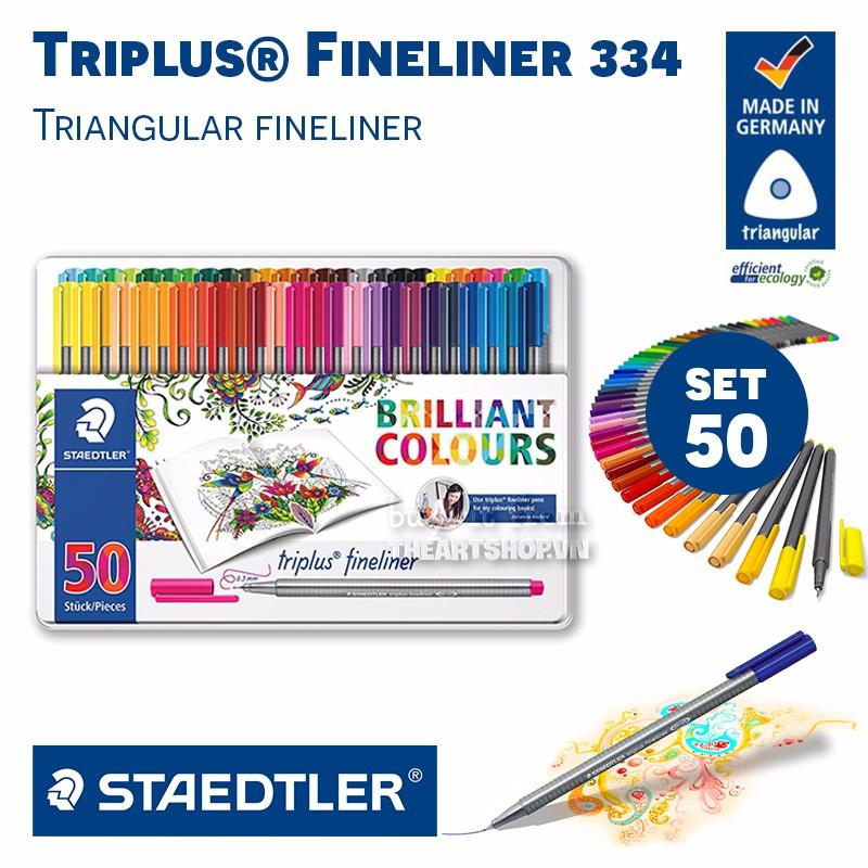 Bút vẽ đi nét STAEDTLER - STAEDTLER Triplus® Fineliner 334 - 50 colors - 3062618 , 971141502 , 322_971141502 , 945000 , But-ve-di-net-STAEDTLER-STAEDTLER-Triplus-Fineliner-334-50-colors-322_971141502 , shopee.vn , Bút vẽ đi nét STAEDTLER - STAEDTLER Triplus® Fineliner 334 - 50 colors