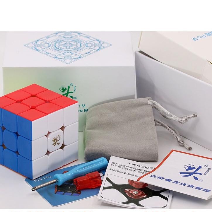 Rubik 3×3 Dayan Zhanchi Pro M Có Nam Châm Điều Chỉnh Cao Cấp