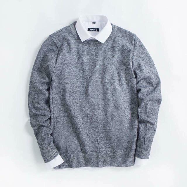Áo len nam tiêu đủ màu - Áo len dài tay có cổ