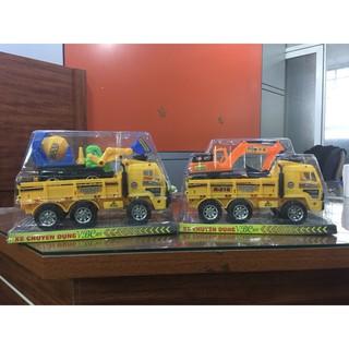 Xe đồ chơi máy xúc