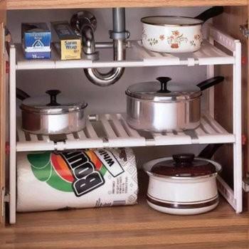 Kệ gầm 2 tầng để đồ nhà bếp đa năng - 2681100 , 437975182 , 322_437975182 , 1450000 , Ke-gam-2-tang-de-do-nha-bep-da-nang-322_437975182 , shopee.vn , Kệ gầm 2 tầng để đồ nhà bếp đa năng