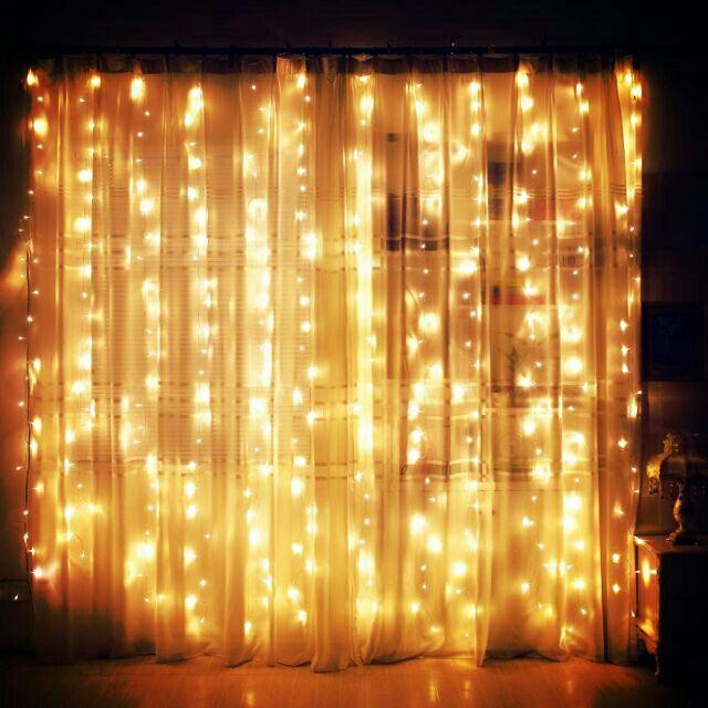 Bộ Đèn Led Thả Rèm Mưa Rơi/ Thác Nước - Đèn Nháy Thả Mành, Trang Trí Cây Đẹp Lung Linh