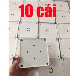 10 Cái Hộp Kỹ Thuật 11x11x5 - Hộp nối điện âm - hộp điện âm
