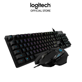 Combo bàn phím và chuột gaming Logitech G512 GX & G502 Hero thumbnail