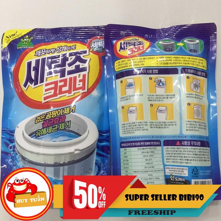 Bột tẩy lồng giặt Hàn Quốc Siêu rẻ