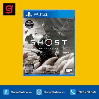 Đĩa Game Ghost of Tsushima Cho Máy PS4 thumbnail