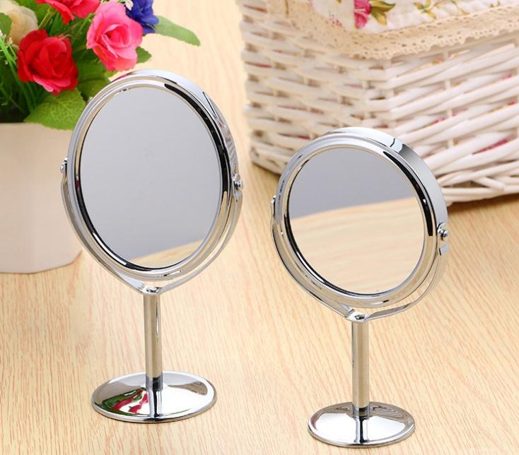 Gương tròn trang điểm 2 mặt gương giá rẻ