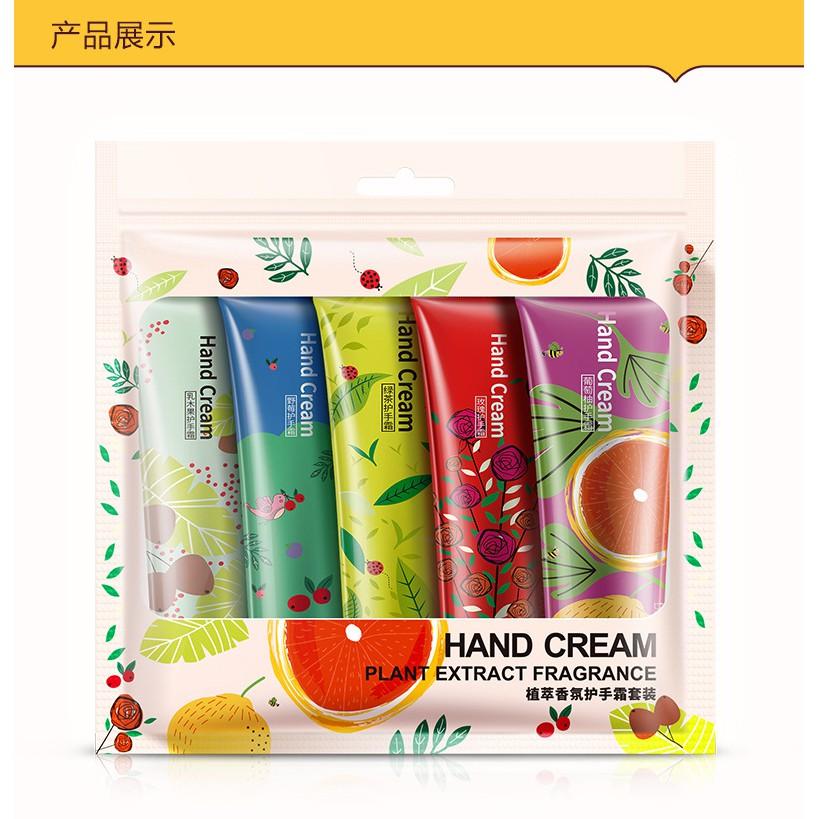 5 chai kem dưỡng ẩm da tay, móng, chống nhăn Bioaqua nội địa Đài Trung