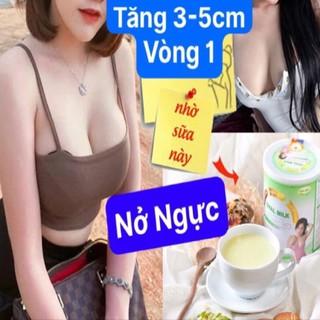 Nở Ngực 5-7cm Tăng vòng 1 Với Oval milk An toàn hiệu quả Sữa mầm đậu Nói Không với phẫu thuật viên uống nở ngực thumbnail