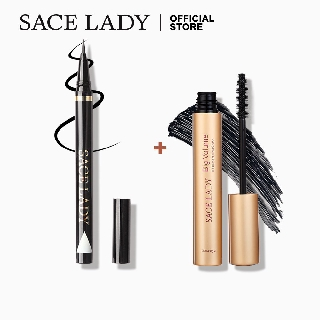 Bộ mascara 8g chống nước + kẻ mắt 0.8g SACE LADY tiện dụng thumbnail