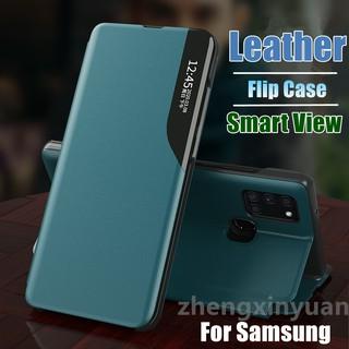 Bao Da Thời Trang Cho Điện Thoại Samsung Galaxy A91 A81 A71 A51 A31 A11 A21S M40S M31 M21 M11 Note10Lite S10Lite