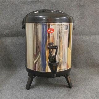 Bình ủ trà, bình giữ nhiệt inox 6L