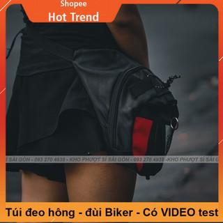 Phiên bản túi đeo chéo đùi dành cho Moto RAMBO form Dainese mới nhất - Túi đeo chéo đùi nâng cấp móc khóa thumbnail
