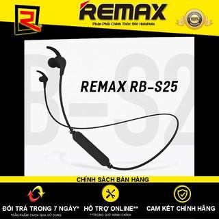 [Mã ELFLASH5 giảm 20K đơn 50K] Tai nghe bluetooth choàng cổ Remax RB-S25