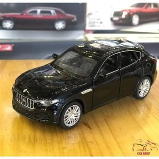 Mô hình xe ô tô Maserati Levante tỉ lệ 1:32 màu đen hàng Quảng Châu