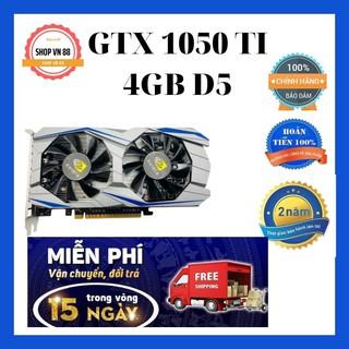 Card đồ họa card vga GTX1050TI 4GB D5 bảo hành 24 tháng trên toàn quốc thumbnail