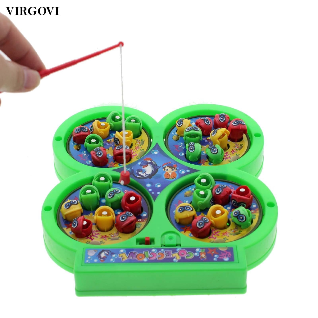 Interesting Electric Rotating Jigsaw Magnet For Kids Educational Toy Cool