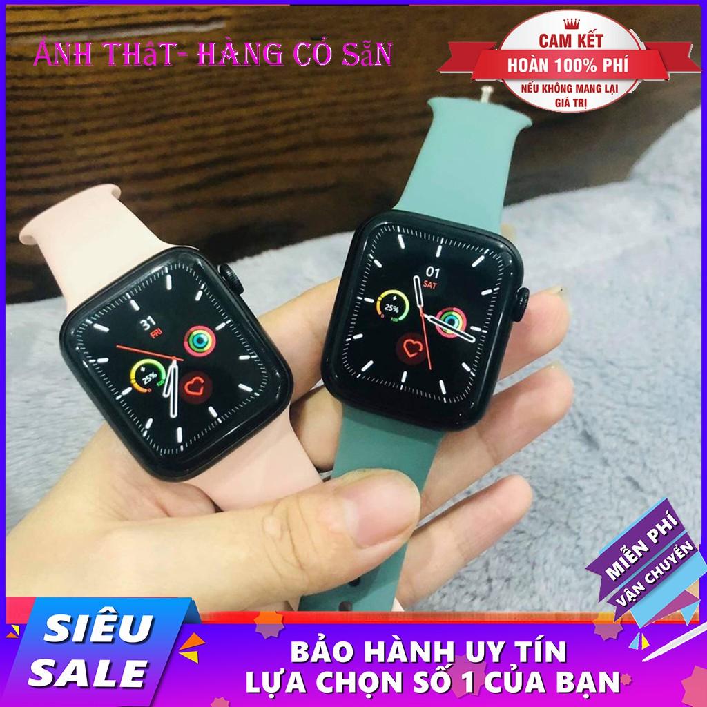Đồng hồ thông minh T500 4 Màu  Bản Seri 5 Đa năng FULLBOX Thế hệ mới ( BẢO HÀNH 12 THáNG )