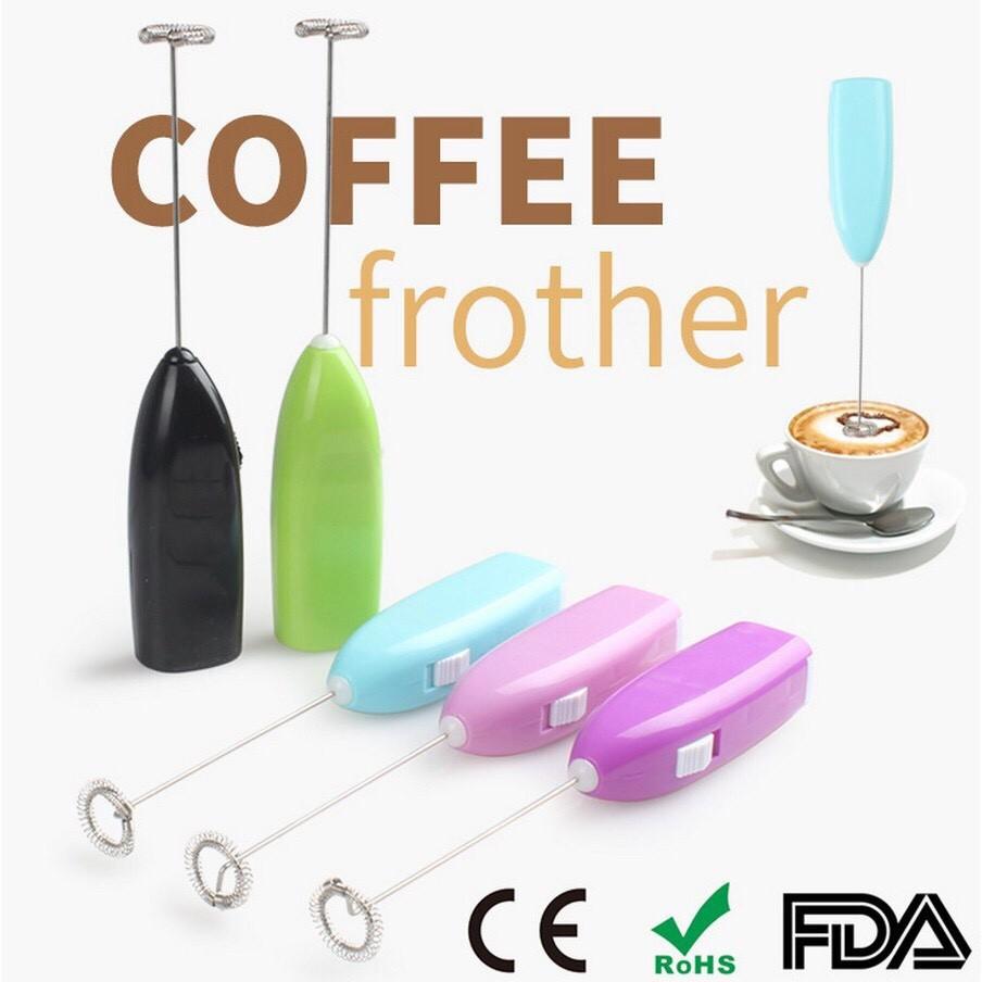 Máy đánh trứng, nguấy sữa, đánh bọt cafe tiện dụng cầm tay