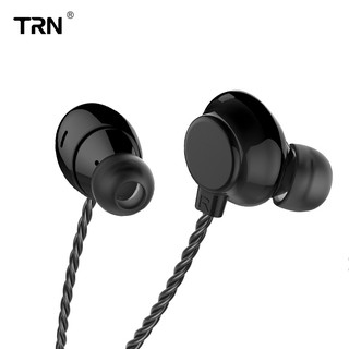TRN H1 Headphones Dynamic Unit 3.5mm In Ear Earphone HIFI DJ Monito Running Sport Earphone Metal Stereo Volume Control Earbud