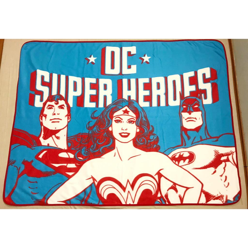 Chăn dạ hình các nhân vật Siêu anh hùng nhà DC – Hàng Nhật new nguyên tag