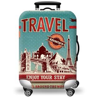 Túi bọc vali co giãn cao cấp Travel Adventure [Hàng có sẵn] thumbnail