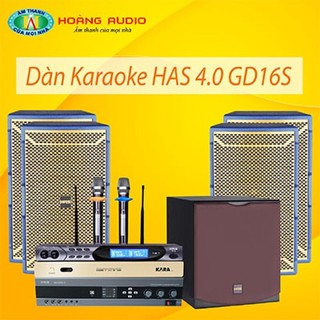 Bộ dàn karaoke gia đình HAS 4.0 GD16S thumbnail