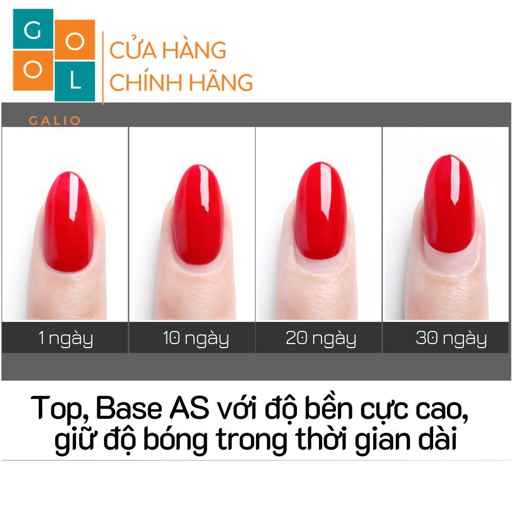Base- Top AS chai mới 15ml [CHÍNH HÃNG]