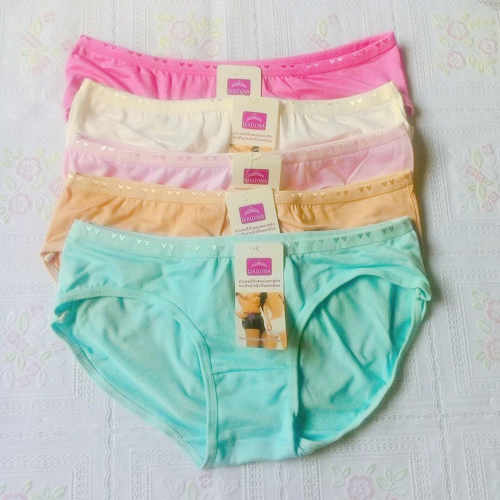 Quần lót Thái Lan nữ quần cotton mát mịn (45kg-55kg)0128
