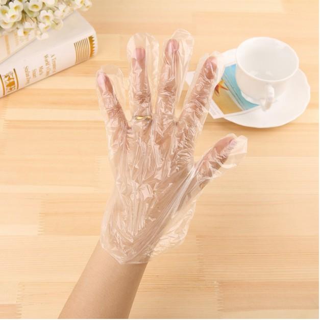 COMBO 5 Túi 100 găng tay vệ sinh an toàn sạch sẽ GDHK555