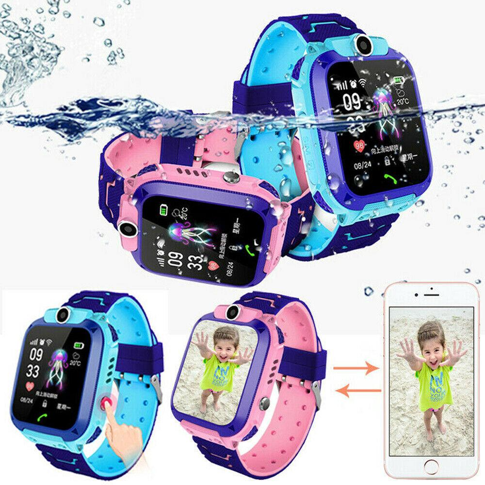 Waterproof  Smart Watch GPS/LBS Tracker SOS Call Anti-lost For Kids Children Gift