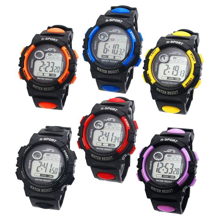Đồng hồ điện tử trẻ em và nam giới đeo tay phong cách sport NT882 BBShine – DH019